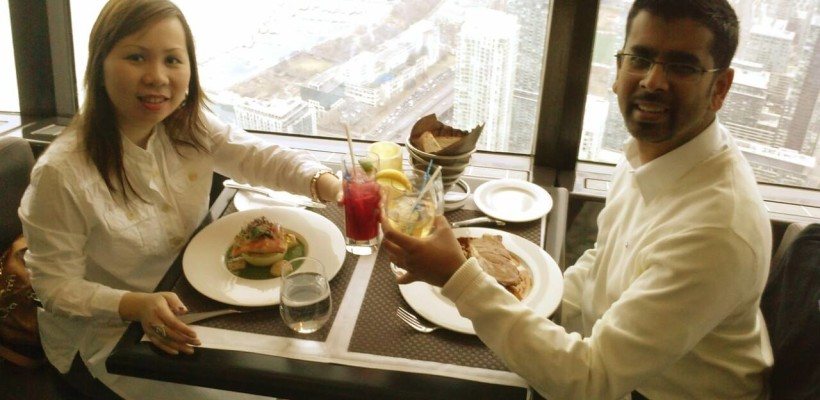 Review of 360 Restaurant CN Tower